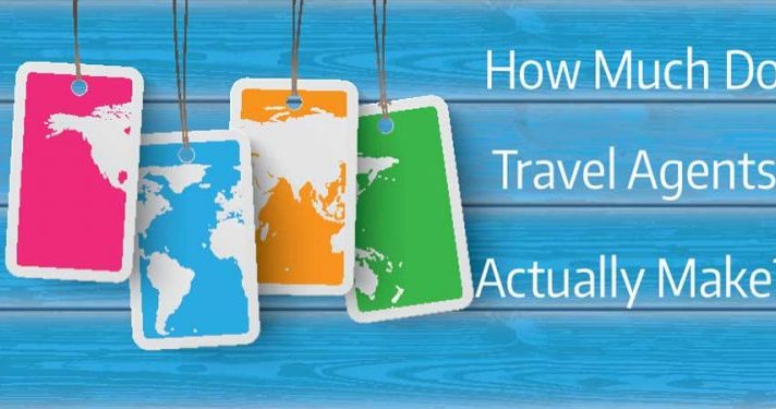 how much money do travel agents make in 2019