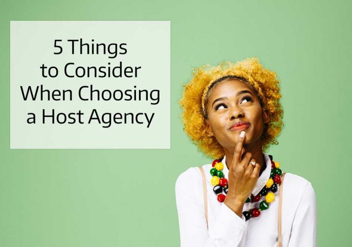 Host Agency Information for Home Based Travel Agents