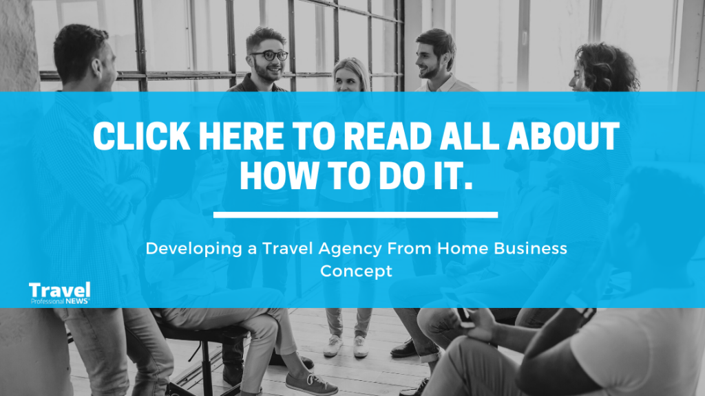 Concept of Making Money - Home Travel Agency