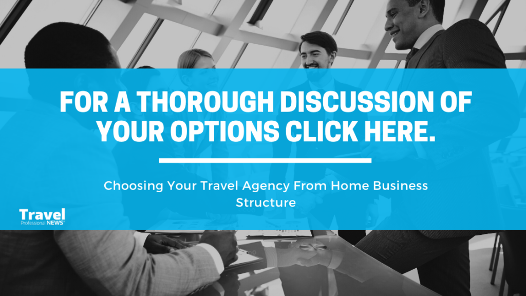 Choosing Your Travel Agency From Home: Business Structure