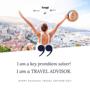 Celebrate your skills as a Travel Professional this Travel Advisor Day with these Free Downloadable Images